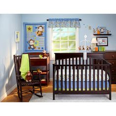 This is my son's nursery set! I love it!!!  Little Bedding by NoJo Born to Rock 10-Piece Nursery in a Bag Crib Bedding Set - Value Bundle