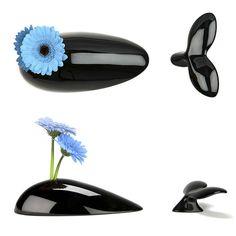 Mobi Whale Vase