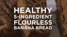 Healthy Flourless Pumpkin Bread | The BakerMama Chocolate Chip Banana Bread, Pumpkin Chocolate Chips, Oatmeal Chocolate Chip Cookies, Waffle Cake, Cake Waffles, Baked Apple Fritters, Greek Yogurt Muffins, Healthy Pumpkin Bread, Pumpkin Tarts