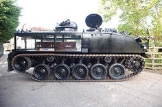 Dutch tank-hearse. I could see this for military funerals.