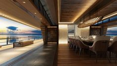 This Two-Deck Superyacht Concept Could Be the Ultimate Party Barge | Boating & Yachting