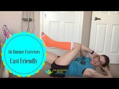 Here are 4 separate Ab workouts that you can do. Even if you have a leg injury, these are workouts that you can do. They are challenging injured or not! Ab Workout At Home, At Home Workouts, Ab Workouts, Broken Ankle Recovery, Foot Exercises, Stretches, Ankle Surgery, Broken Foot, Summer Body Workouts