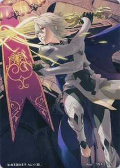 male Avatar from Fire Emblem Cipher TCG.