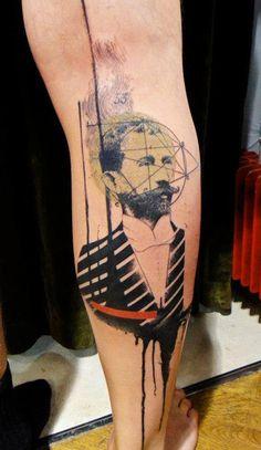 Abstract Tattoo by Xoil Tattoo | Tattoo No. 10559