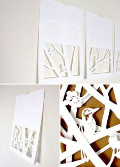 """Two Trick Pony's 2012 """"Year of Type"""" calendar."""