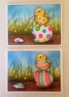 Easter chick by Dolly Watt - Cards and Paper Crafts at Splitcoaststampers