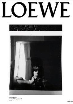 LOEWE ❷⓪❶❺ by Steven Meisel's self portrait