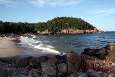 Black Brook Beach, Cape Breton Island, Nova Scotia.  Great beach and fun waves :)