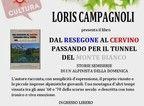 La presentazione del libro, su invito, a Valtournenche nell'ambito degli eventi culturali della stagione estiva 2013.