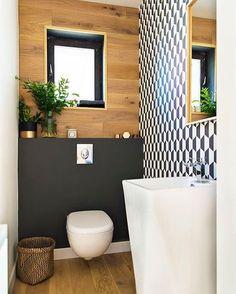 Inspiração para decorar seu banheiro ou lavabo. Fonte: @homify