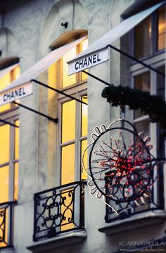 Chanel at Christmas!