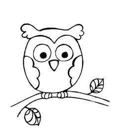 Owl Pattern by michellepatterns, via Flickr