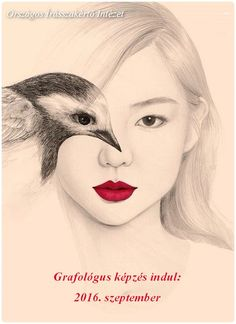 Beautiful portrait illustrations by OkArt . The south Korean artist using the effect of double exposure by merging the eye of the model with that of the bird explores harmony between humans and animals. Bird Drawings, Drawing Faces, Cool Drawings, Pencil Drawings, Pencil Art, Portraits Illustrés, Wow Art, Portrait Illustration, Double Exposure