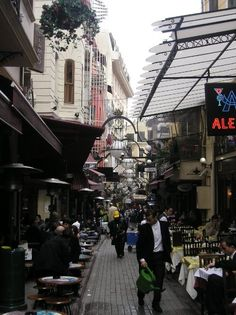 Nevizade Street - many delicious fish & tapas restaurants and pubs