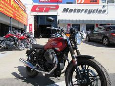 New 2015 Moto Guzzi V7 STONE Motorcycles For Sale in California,CA. Now $6,490 was $8,490! Rosso Impetuoso matte-red and Rosso-red gloss in stock. Own an Original. In 1967 the first big Italian bike appeared on the motorcycle market: the Moto Guzzi V7. The new V7 Stone changes everything yet remains true to that Moto Guzzi V7 heritage. For new or returning riders, or anyone who just wants a no frills, just thrills classic, the Moto Guzzi V7 Stone is a rock solid choice. With a lower seat…