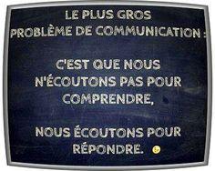 Problème de communication ...