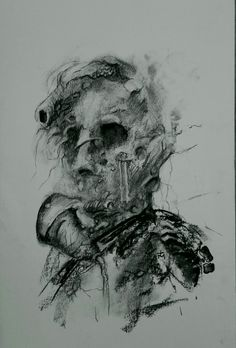 Drawing portrait by tasos bousdoukos