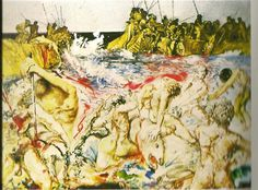 Aliyah, the Rebirth of Israel, Salvador Dali