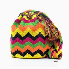 Cabo Wayuu Bag RESHOOT - MOCHILAS WAYUU BAGS