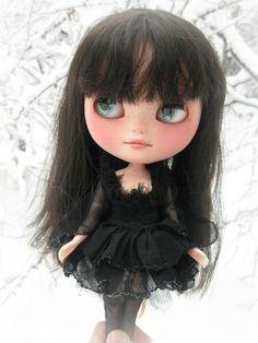 OOAK Custom ICY Doll - Twigg - Blythe-Like Big Eyed Girl