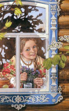 Matryoshka Lyudmila Romanova (lead artist Lida - studio) P. simple quest for…