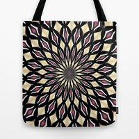 Tote Bag featuring PURPLE PETALS by Teresa Chipperfield Studios