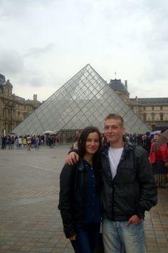 The Louvre Museum (Paris 2014) With my Boyfriend