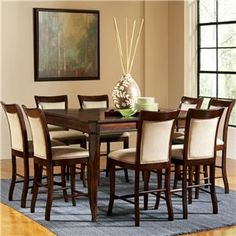 Awesome Square Dining Set Canada Mahogany Canada Dining Seat Cushion With Piece  Dining Room Set.