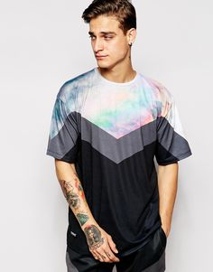 Ichiban T-Shirt With Cloud Panel