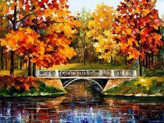 """Fall Blinks"" by Leonid Afremov"