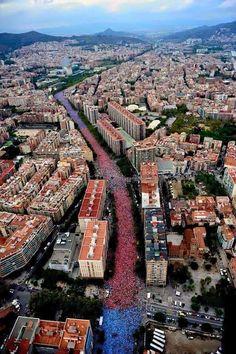 Catalonia for freedom 11/9/2015