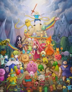 DeviantArt: More Like ADVENTURE TIME! by JeffWelborn