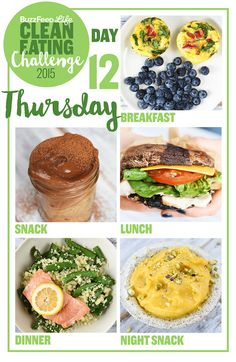 Take BuzzFeed's Clean Eating Challenge, Learn To Make Real Food