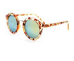 Sunglasses summer 2015, trend, leopard, brown, mirror, blue glasses.