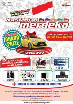 Promo Nasmoco Merdeka Berhadiah Toyota New Agya