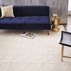 Scallop Wool Rug