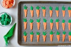 Carrot Cupcakes with Cream Cheese Frosting Recipe and Candy Melt Carrots