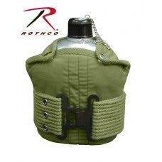 Rothco Pistol Belt Kit With Belt ,Cover and Canteen
