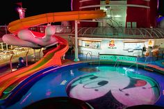 Mickey Mouse Pool/Slide...want