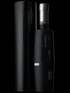 """It started out as a late night """"What if?"""" idea after a few drams. What if we distilled the most heavily-peated barley humanly possible, in the tall, narrow-necked Bruichladdich stills to make the purest spirit possible? And here it is – the very first release of our legendary Octomore, named for James Brown's farm above Port Charlotte, and meaning in Gaelic """"the big eight"""", an ancient measure of land. Peated to an astonishing 131ppm - the most heavily-peated whisky in the world."""