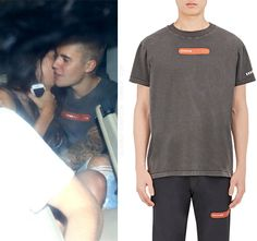 "bieber-fashion: "" Visitor on Earth Appliquéd Cotton T-Shirt - $95.00 Available here """