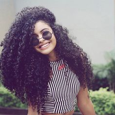 Hair Goals! #wcw @steffany_borges by ukcurlygirl