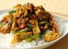 Kung Pao Chicken, Potato Salad, Pork, Potatoes, Meat, Cooking, Ethnic Recipes, Kale Stir Fry, Kitchen