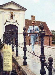 Matthias Schoenaerts para GQ Junio 2016 por Anders Overgaard