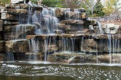 Bay Beach Sanctuary Waterfall