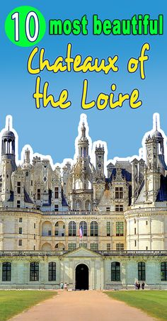 Here's my top 10 most beautiful chateaux of the Loire Valley. and of course it includes Chambord, Chenonceau, Azay-le-Rideau. Chambord Castle, Westerns, French Castles, Renaissance Architecture, France Travel, How To Find Out, Most Beautiful, In This Moment, Wanderlust
