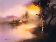 Peaceful Country by Hong Leung