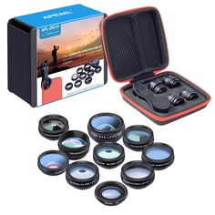 Phone Camera Lens Kit (10-in-1) for Smartphones and Tablets Galaxy cb22789536348