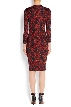 Givenchy - Dress In Floral-print Stretch-jersey - SALE20 at Checkout for an extra 20% off