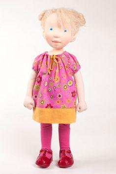 Dorothy handmade cloth doll by AldegondeCeelen on Etsy